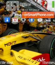 Renault F1 es el tema de pantalla