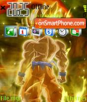 Goku Ss3 theme screenshot