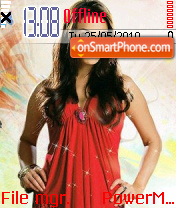 Preety Zinta theme screenshot