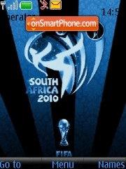 World cup 2010 es el tema de pantalla