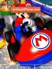 Mario Kart Wii es el tema de pantalla