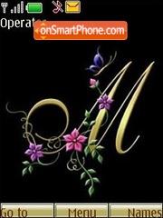 The letter M theme screenshot