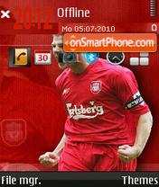 Steven Gerrard 02 es el tema de pantalla