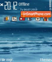 Sea 5801 es el tema de pantalla