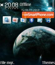 Universedi theme screenshot