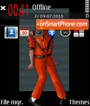 Michael Jackson 19 tema screenshot