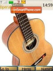 My classic guitar es el tema de pantalla