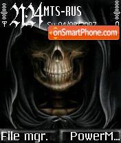 Face of Death theme screenshot