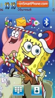 Spongebob Christmas es el tema de pantalla