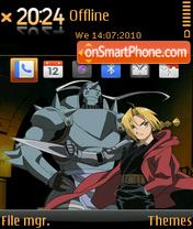 Fullmetal Alchemist 01 es el tema de pantalla