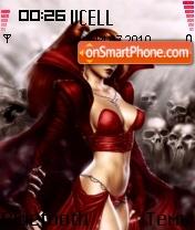 EvilGirl es el tema de pantalla