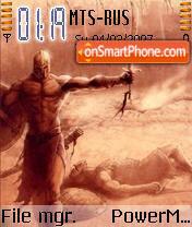 Gladiator 02 theme screenshot