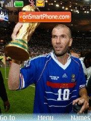 Zinedine Zidane es el tema de pantalla