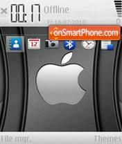 Black Apple 02 theme screenshot