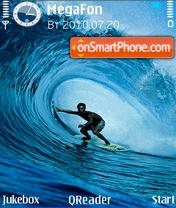 Wave es el tema de pantalla