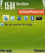 N73ME Default theme screenshot