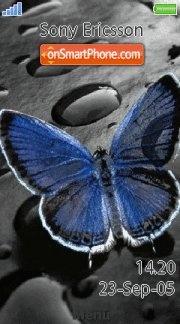 Blue Butterfly 04 es el tema de pantalla