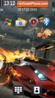 Red Ferrari V2 theme screenshot