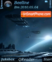 Outer Space-2 theme screenshot