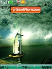 Burj Al Arab Dubai 01 theme screenshot