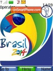 Fifa Brasil 2014 theme screenshot