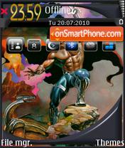 Boris vallejo 2 theme screenshot