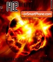 ExplodePlanet es el tema de pantalla