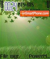 Green Vista es el tema de pantalla