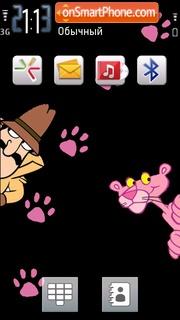 Pink Panther 07 es el tema de pantalla