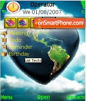 Land theme screenshot