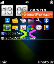 Light S60 by To es el tema de pantalla
