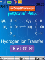 Hydrogen Ion Transfer theme screenshot