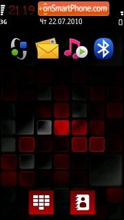 Red Black Mosaic es el tema de pantalla