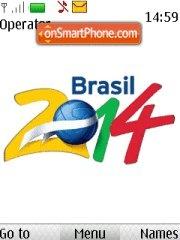 Brasil 2014 with RingTone theme screenshot