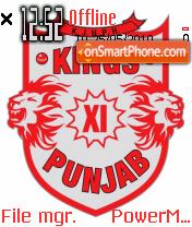 Kings punjab es el tema de pantalla