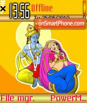 Radhakrishna 01 theme screenshot