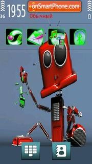 Baby Robo theme screenshot