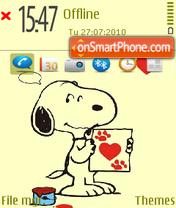 Snoopy 04 es el tema de pantalla