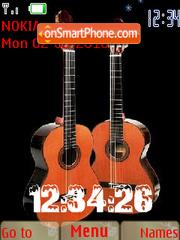 My Guitar theme screenshot