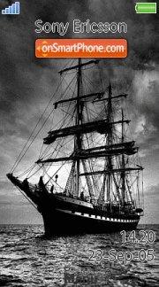 Dark Ship es el tema de pantalla