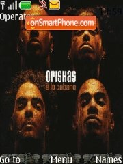 Orishas theme screenshot