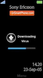 Virus 04 es el tema de pantalla