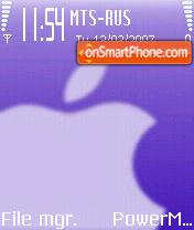 Apple es el tema de pantalla