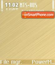 Pure Brown theme screenshot
