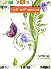 Capture d'écran Nokia Creative thème