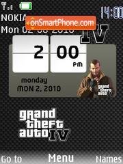 Gta Iv SWF theme screenshot