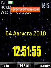 Mertsanie zvezd theme screenshot