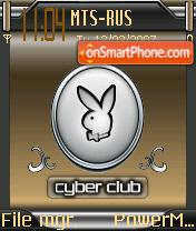 Playboy Cyberclub es el tema de pantalla