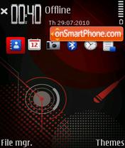 XM ovi theme screenshot
