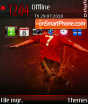 David Villa 02 tema screenshot